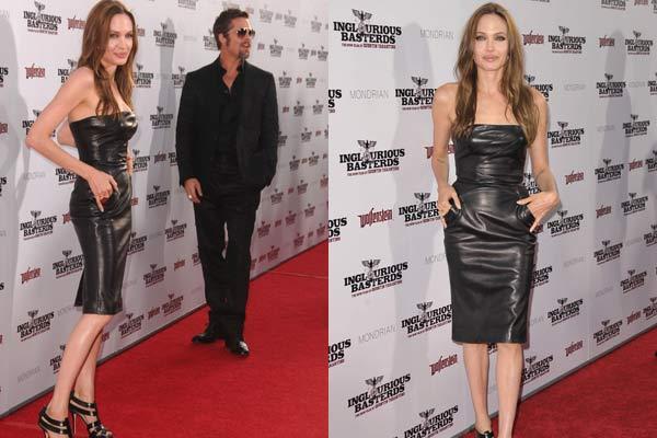 Ето как Джоли е слаба!