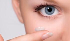 контактни лещи