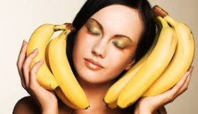 бананова маска за коса