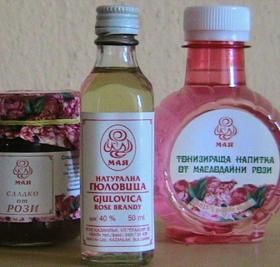 Розово масло за пиене